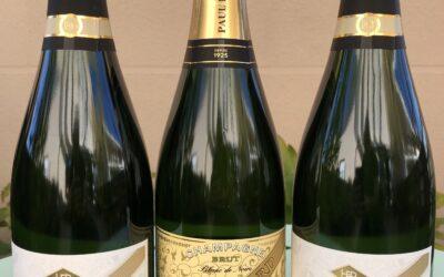 La nouvelle bouteille «Brut Blanc de Noirs» est arrivée !